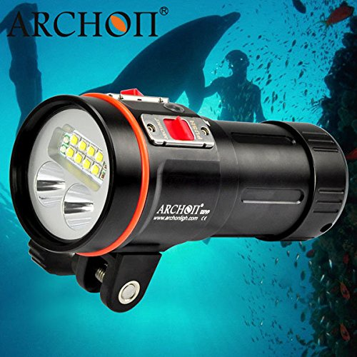 bazaar-archon-d37vp-w43vp-8-x-xm-l2-5200lm-professional-diving-video-and-spot-led-flashlight-100m