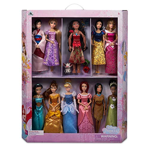 Disney Prinzessinnen-Puppen, 11 Stück - Disney Mulan Prinzessin