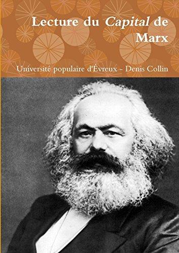 Lecture du Capital de Marx