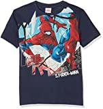 Marvel 15661RAZ, T-Shirt Bambina, Blu, 152 (Taglia Produttore:12)