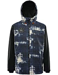 Veste De Snowboard Thirty Two Sesh Acid Blast (M , Noir)