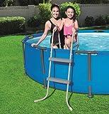 Échelle pour piscine structure en métal x piscine hauteur max 84 cm. Gradini 2