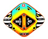 WOW World of Watersports, 16-1060, Mojo 1 or 2 Person Towable Tube, Front
