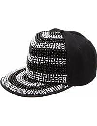 Baseball cap Hip Hop Cap Unisex Punk Moderene Design mit Strass Herren Damen Mützen Trend in versch. Style