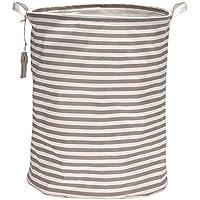 Sea des Team Wasserdicht mit-beschichtet RaMio aus Baumwolle-faltbar Wäschekorb, Storage Basket grau