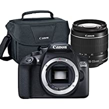 Canon EOS Rebel 1300D / T6 18MP DSLR Camera With 18-55mm EF-S F/3.5-5.6 Lens + Case