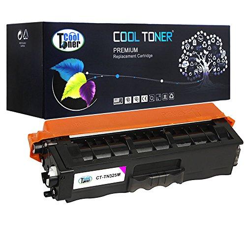 Preisvergleich Produktbild Cool Toner kompatibel Toner TN-325M TN325 kompatibel für Brother HL-4140CN 4150CDN 4570CDW 4570CDWT, MFC-9460CDN 9465CDN 9560CDW 9970CDW, DCP-9055CDN 9270CDN,Magenta, ca.3500 Seiten
