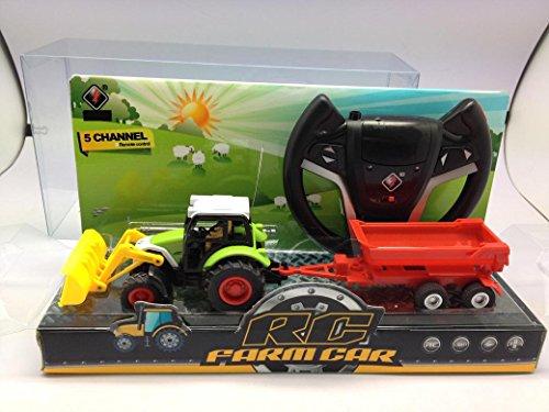 R/C Traktor mit Anhänger*