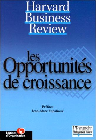 Les opportunités de croissance par Harvard Business Review
