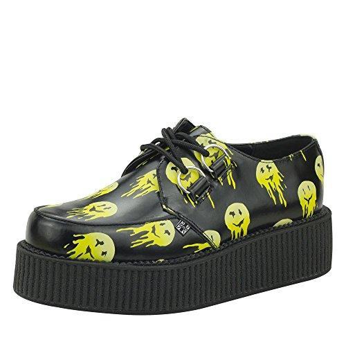 tuk-shoes-smiley-black-leather-mondo-viva-sole-brothel-creeper-eu42-ukm8