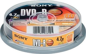Sony 4.7 GB 10 pack Blank dvd