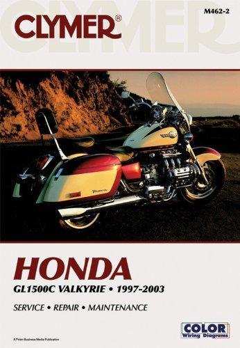 Clymer Honda GL1500C Valkyrie, 1997-2003 (Clymer Motorcycle Repair) Paperback May 24, 2000