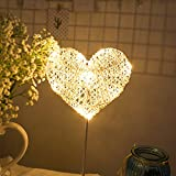 Best Lamps - LED Night Light Table Lamp Heart Star Shaped Review