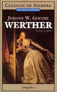 Werther/Werther par Johann Wolfgang von Goethe
