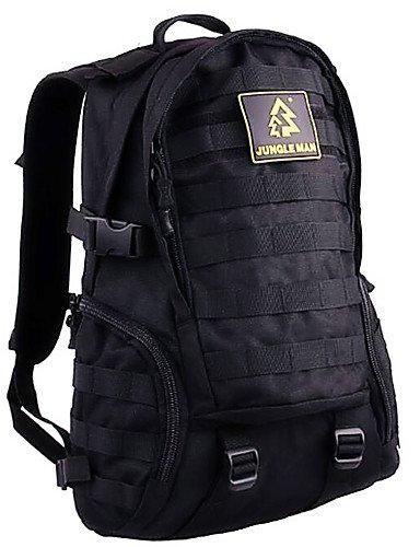 HWB/ 10 L Rucksack Atmungsaktiv Schwarz Nylon Black
