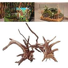 Tronco de madera natural Dairyshop. Madera de deriva, decoración o adorno para acuario o pecera., madera, Medium