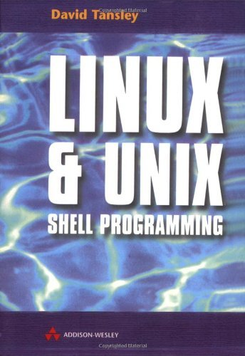 LINUX &UNIX Shell Programming by David Tansley (1999-12-17)