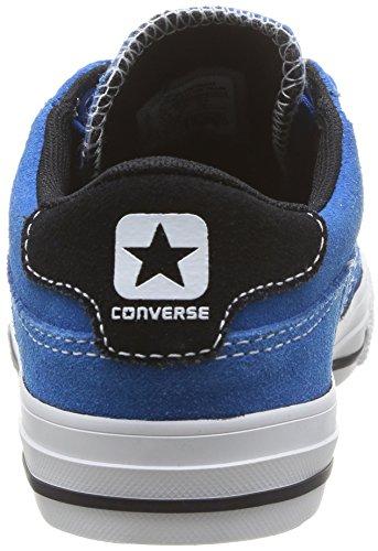 Converse Tre Star Ox, Baskets mode mixte enfant Bleu (Bleu/Noir)