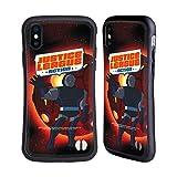Head Case Designs Officiel Justice League Action Darkseid Art Personnages Coque Hybride Compatible avec iPhone X/iPhone XS