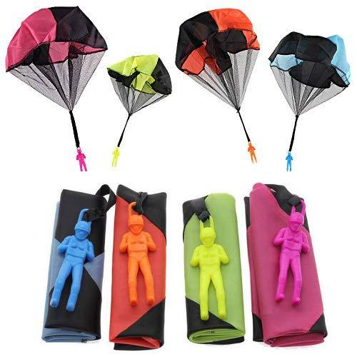 Sparta's Store Hand Werfen Fallschirm Sets, einschließlich 4 × Kinder Hand Werfen Fallschirm Spielzeug.Sehr Gute Outdoor-Spielzeug für Kinder, kann ALS Geschenk an Kinder gegeben Werden!