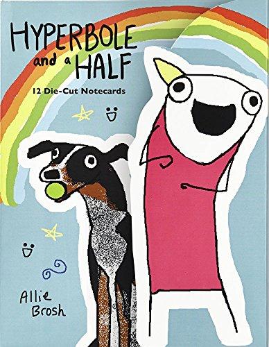 Portada del libro Hyperbole and a Half Die-Cut Notecards by Allie Brosh (3-Feb-2015) Cards
