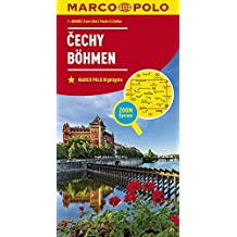 MARCO POLO Karte Tschechien Blatt 1 Böhmen  1:200 000: Wegenkaart 1:200 000 (MARCO POLO Karten 1:200.000)