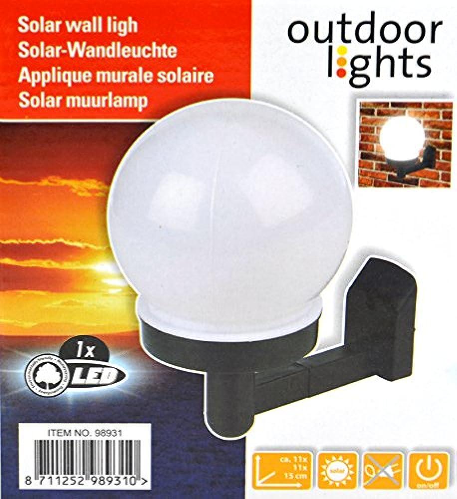 2x LED Solarstrahler Solarlampe Solar Wandstrahler Akku Gartenstrahler Aluminium