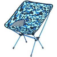 IRVING Sillas Plegables portátiles ultraligeras al Aire Libre con Las sillas de Playa Plegables de Las
