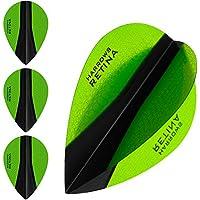 HARROWS retina-x Dart Flights–5sets (15)–100micron Extra Stark–Pear–Grün