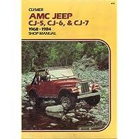 AMC Jeep CJ-5, CJ-6 & CJ-7, 1968-1981