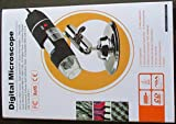 Segolike Generic Mini 8 LED Light Magnifier USB Digital Microscope Endoscope Zoom Camera 800X W/ Stand Holder