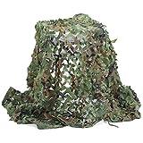 Camouflage Netz, Armee Tarnnetz Woodland 3M x 5M Tarnung Net für Sonnenschutz Jagd Waldlandschaft Schmücken Tierfotografie