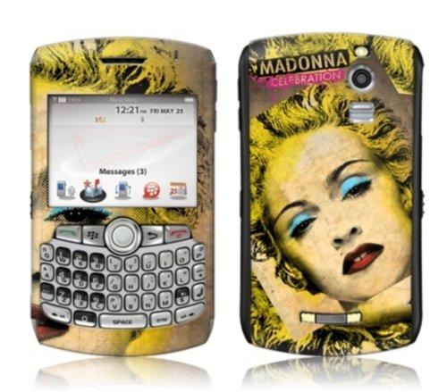 MusicSkins Madonna Celebration selbstklebende Schutzhülle für BlackBerry Curve 8330
