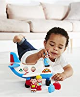 Happyland lights and sounds- FLY AND GO JUMBO AEROPLANE S...