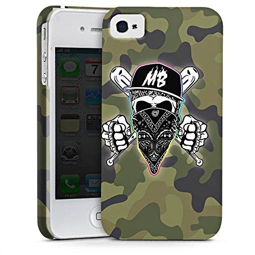 Apple iPhone X Silikon Hülle Case Schutzhülle Montanablack Fanartikel Merchandise MontanaBlack Base Camo Premium Case glänzend