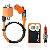 Best 125cc Scooters - Universal Hot Fire High Performance Ignition Coil Spark Review
