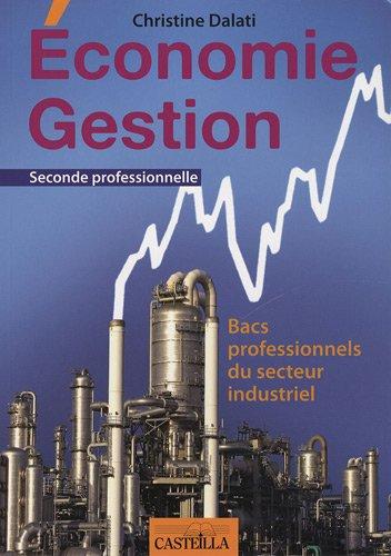Economie Gestion Bac Pro 3 ans : Bacs professionnels du secteur industriel