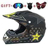 Adulte Motocross Casque MX Moto Casque ATV Scooter ATV Casque D. O. T Certified...