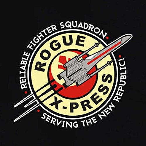 TEXLAB - X-Wing Rogue - Herren T-Shirt Marine