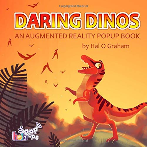 Daring Dinos: An Augmented Reality Popup Book