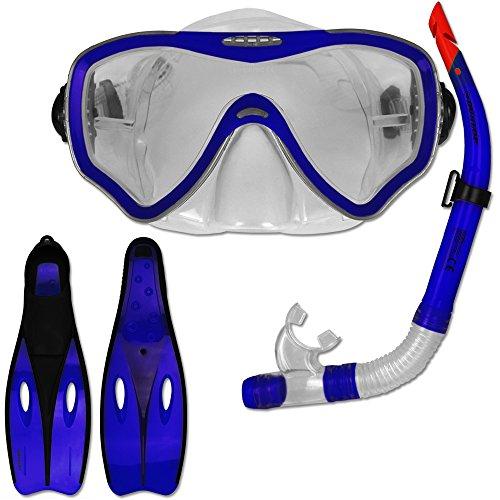 Aquazon Korfu Schnorchelset Tauchset Schwimmset Mit Schnorchel Und Brille Taucherbrillen