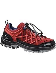Salewa JR WILDFIRE WATERPROOF 00-0000064005 - Zapatos para unisex-niño, color amarillo, talla 27 EU (9 Kinder UK)