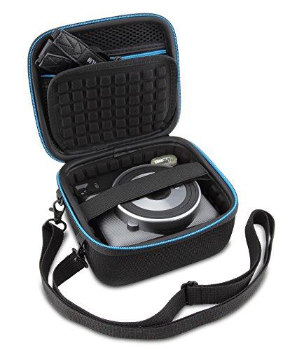 Supremery Tasche für Fujifilm Instax Square SQ 6 EX D Sofortbildkamera Case Schutz-Hülle Etui Tragetasche mit Schultergurt Square Hülle Case