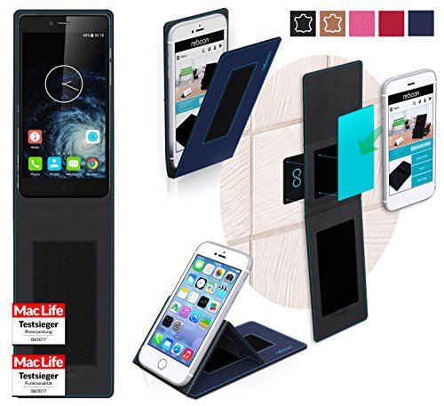 reboon Hülle für Elephone S2 Plus Tasche Cover Case Bumper   Blau   Testsieger