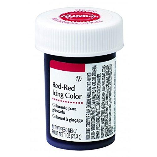 Colorante alimentare rosso wilton gel gr.28 decorazioni torta
