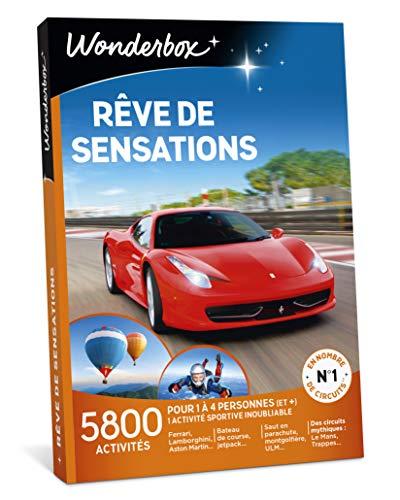 Wonderbox - Coffret cadeau sensation noel - RÊVE DE SENSATIONS - Activités:...