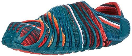 Vibram FiveFingers Furoshiki Original, Sneakers Basses Mixte Adulte - Multicolore (Blue Flower), 36/37 EU (XS)