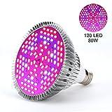 E27 30W/50W/80W Grow Led Luci per PianteLED Illuminazione Grow Lampada Light Livello Dimmerabili Luci Impianto per Pianti Frutta Verdure Fiore per Serra ( Edition : 80w )