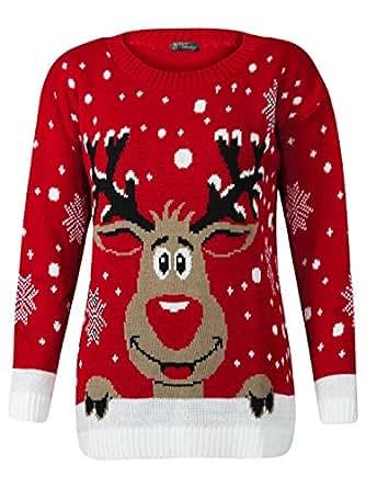 Fashion Valley Pullover Damen Strickpullover Rudolph