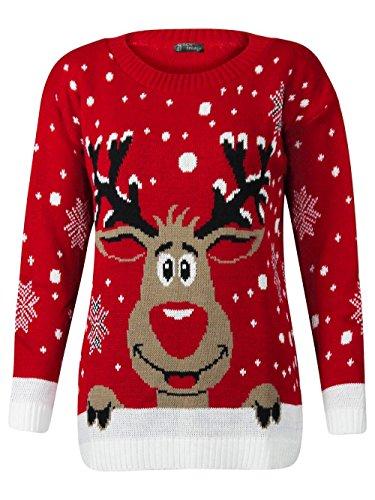 Fashion Valley - Pull fantaisie Noël femme...